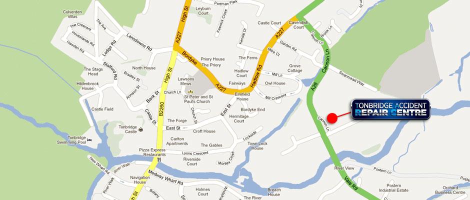 How To Find Tonbridge Accident Repair Centre