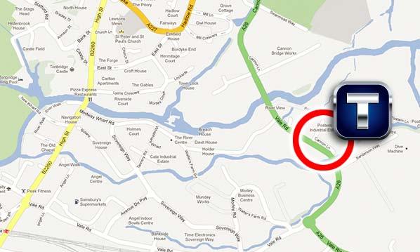 Tonbridge Accident Repair Centre Location